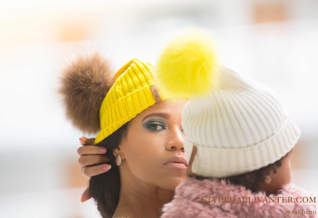 BKLYN BOBBLE HATS - bklyn beanies - bklyn hats _winter 2016 trends _ stylish beanies _ @sakhino blog-21