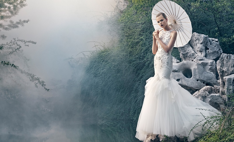 the instaban, top-bridal-fashion-editorials_Badgley-Mischka-Spring-2016-Bridal-Campaign01