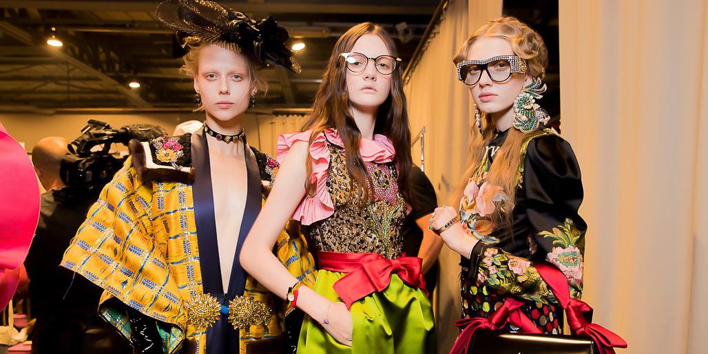 Gucci Backstage – MILAN FASHION WEEK 2016