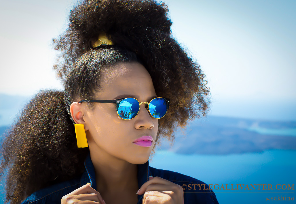 colourful accessories, yellow-earrings-4