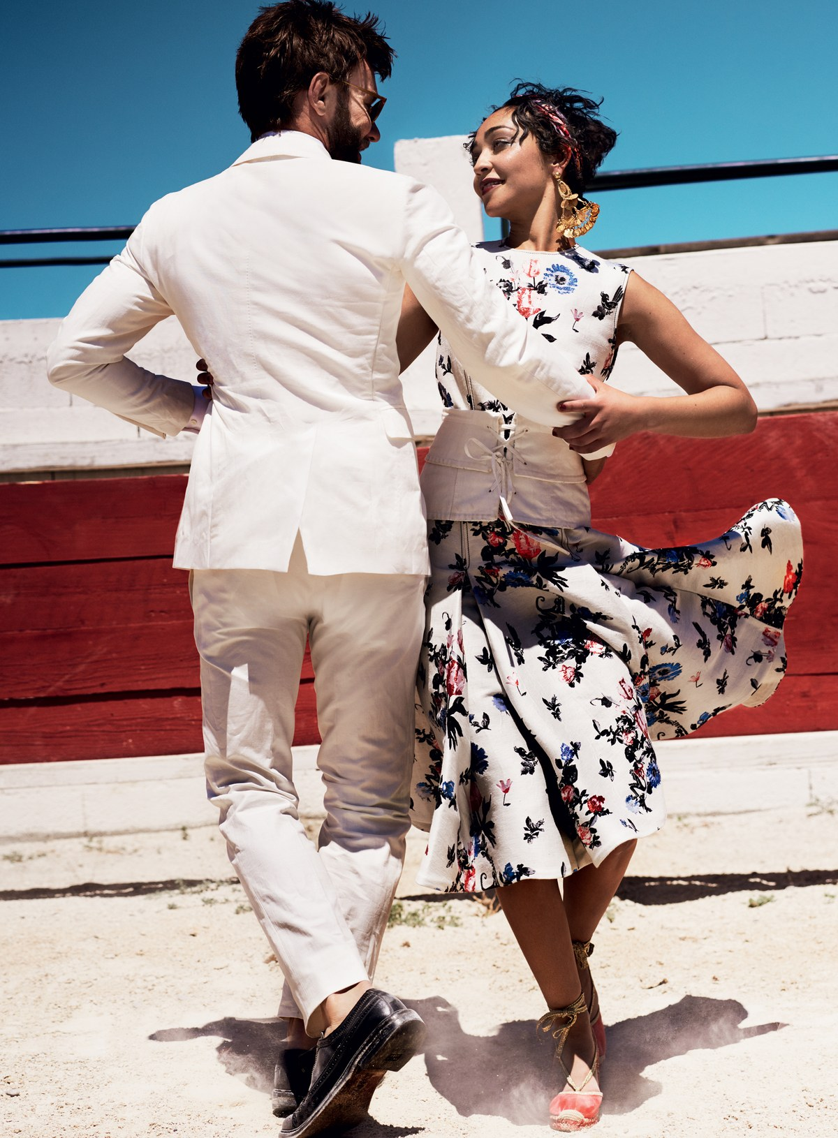 INSPIRED STYLE FEATURING RUTH NEGGA, RUTH NEGGA, LOVING MOVIE, JOEL EDGERTON 8