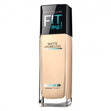 maybelline fit me matte and poreless foundation review, best cheap foundations, best drugstore foundations, best matte foundations