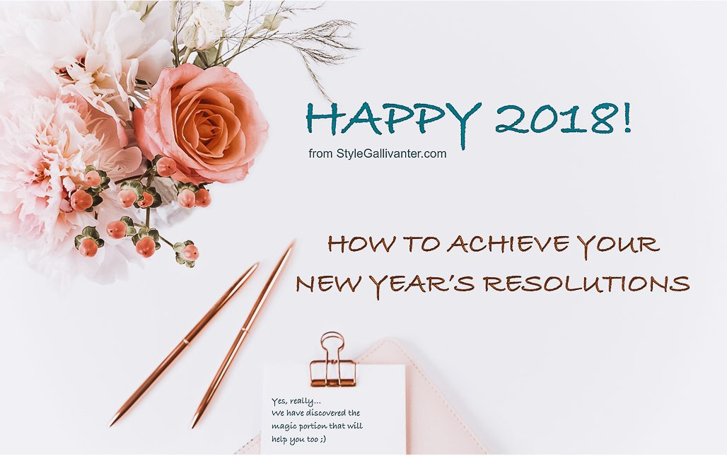 new years resolutions, goals2018, how to achieve your resolutions 2018, top fashion style bloggers perth australia 2018, miranda sakhino